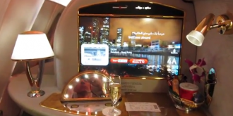 Emirates Airlines A380 First Class