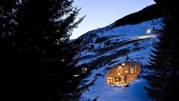 Villa Inside a Mountain