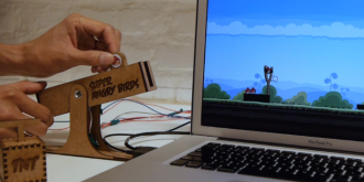 Super Angry Birds – A Tangible Controller