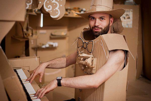 Cardboardia  A Town Made Of Cardboards