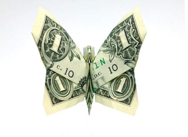 Intricate Money Origami Models by Won Park