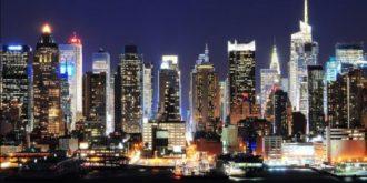 New York City Lights by Ben Leshchinsky