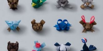 Amazingly Folded Ribbon Animals