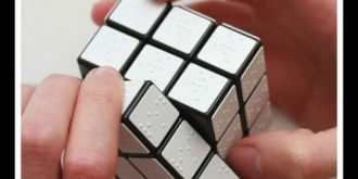 Rubik's Cube For Blind People By Konstantin Datz
