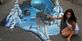 Mind-Blowing 3D Street Art