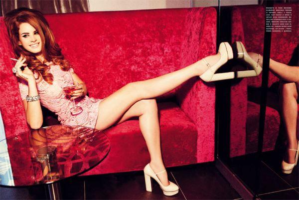 Lana Del Rey Photos Taken From Magazines