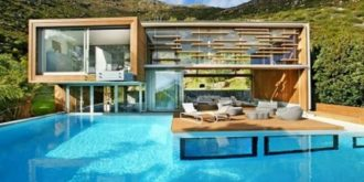 Cape Town Spa House by Metropolis Design
