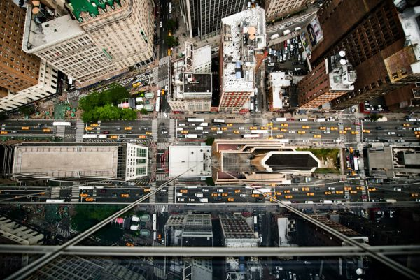 Intersections from Above by Navid Baraty