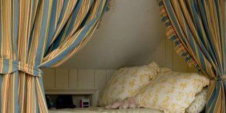 Cozy Reading & Sleeping Nooks