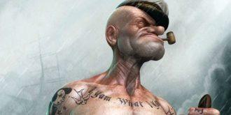 3D Popeye