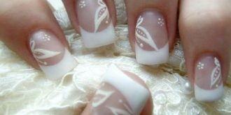 Glamorous Bridal Nail Art Selection