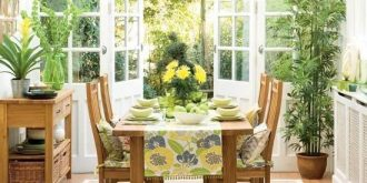Cozy and Colourful Sunroom Designs
