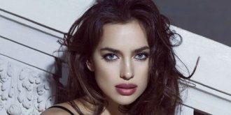 Irina Shayk – La Clover Lingerie (Valentine's Day)