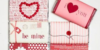 Simple – Yet Cute Valentine Gift Wrapping