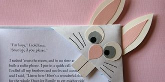 Origami Page Corner Bookmarks