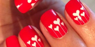Lovely Nails For Valentine's Day