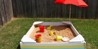 5 DIY Sandbox Ideas