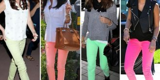 A Touch Of Colour – Neon Skinnies