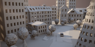 Short Animation: Paper City