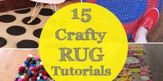 15 Crafty Projects for Making a Rug