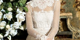 So Romantic Bridal Gowns with Long Sleeve