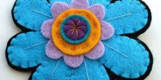 20 DIY Felt Flower Tutorials