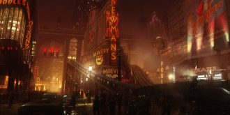 Steampunkesque Cityscapes by Pete Amachree