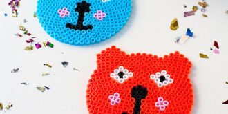 Super Fun Crafts Projects with Plastic Beads