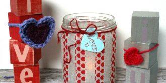 25 DIY Decorative Crafts for Valentine's Day