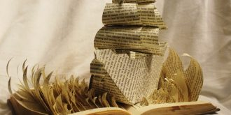 Creative Book Sculptures by Jodi Harvey-Brown