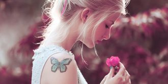 27 Cute and Chic Butterfly Tattoos
