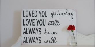 Romantic Love Quotes for Your Walls