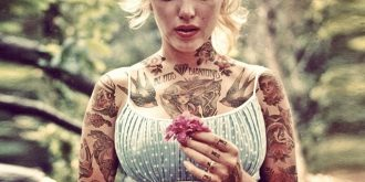 Celebrities Covered with Tattoos by Cheyenne Randall