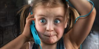 John Wilhelm Takes Funny Photos Of His Daughters