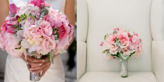 Pink Bouquets for Beautiful Brides