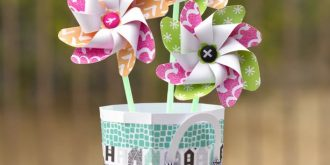 DIY Spring Themed Paper Crafts for Kids