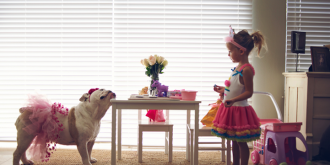 The Heartmelting Friendship of a Little Girl and Her Dog