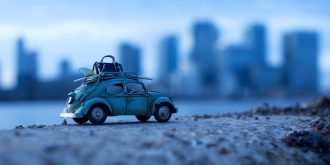Traveling Little Toy Cars by Kim Leuenberger